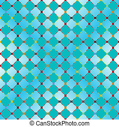 flowerish blue seamless texture