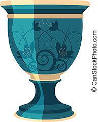 flowerpot, flower vase