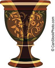 flowerpot, flower vase vector