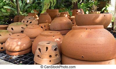 flowerpot, muitos