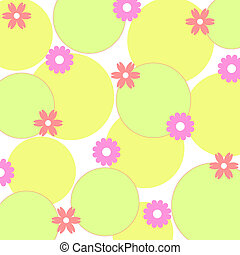 Flowers and circles