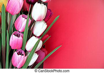 flowers., artificial
