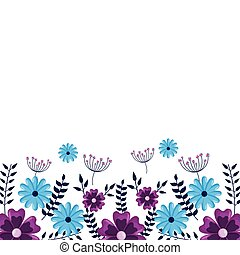 flowers border decoration