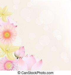 Flowers Border