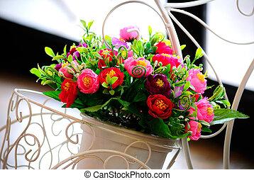 flowers., branche