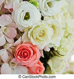 flowers., casório