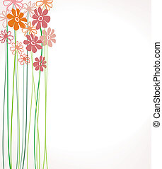 Flowers Color - composition with flowers creative design...