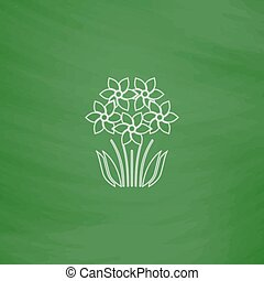 flowers computer symbol