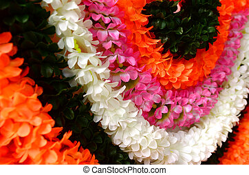 Flowers decoration for Indian festival