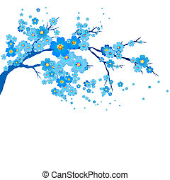 flowers design - it is done in the program illustrator