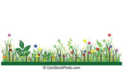 flowers for background vector