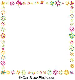 Flowers frame for your design