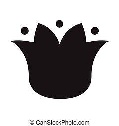Flowers icon design