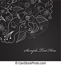 flowers., ilustração