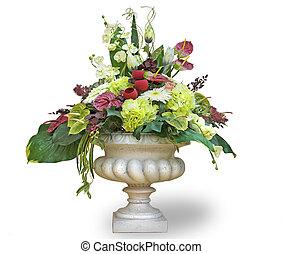 flowers in a flowerpot