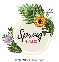 Flowers isolated raster