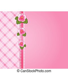 flowers., koronka, upiększenia