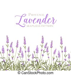 flowers., krans, lavendel