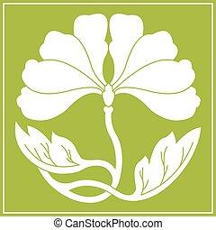 flowers lotus flat simlpe vector illustraton - lotus flower...