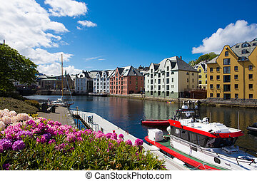 flowers of Alesund