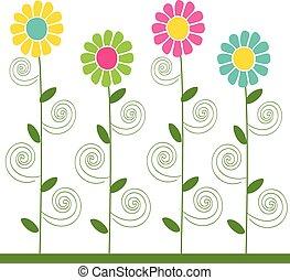 flowers pattern 3