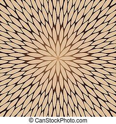 flowers pattern, chamomile, round flower vector background