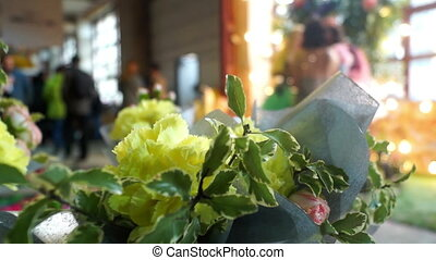 Flowers people shop