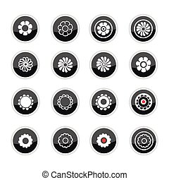 flowers pictogram