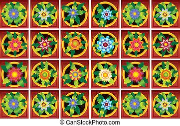 flowers raster image