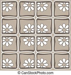 Flowers- Retro style