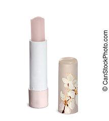 flowers., sakura, chapstick