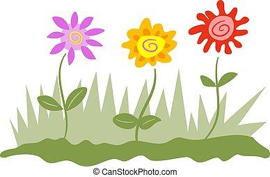 Flowers - Designer flowers.