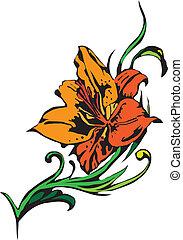 Flowers - vector