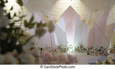 Flowers wedding decoration