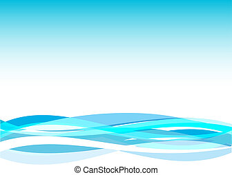 Flowing - Abstract background with a flowing feel to it