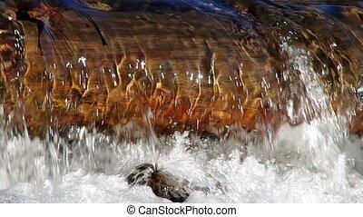 Flowing brook