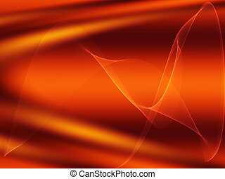 Abstract background of flowing curves
