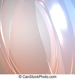 Flowing glowing abstract - Abstract wallpaper background...