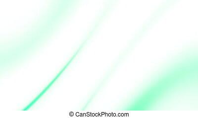 Flowing green white blue Loop