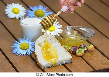 flowing honey bread