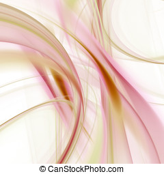 Flowing Pastel Abstract