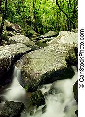 Flowing Rocks