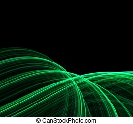 Flowing Threads Abstract