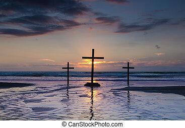 Flowing Waters Crosses