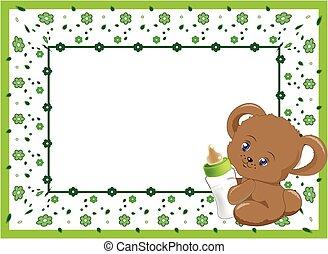 flpwer frame green
