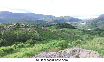 fluß, an, killarney nationalpark, tal, in, irland, 80
