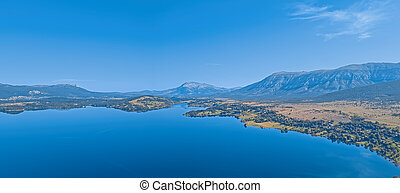 fluß, kroatien, reservoir, peruca, cetina, see