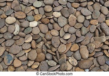 fluß, rocks.
