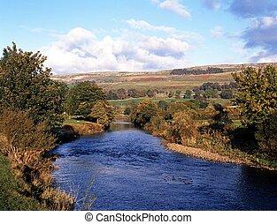 Yorkshire Fluss