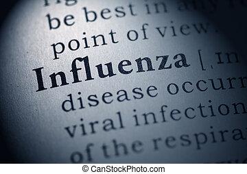 flu and influenza - Fake Dictionary, Dictionary definition...